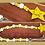 Spring chick wood bead garland with tassel jute yellow white star Easter decor Abu Dhabi Dubai Al Ain Gateway Art Sales LLC