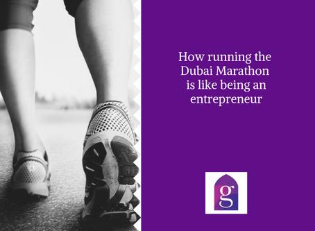 How running the Dubai Marathon is like being an entrepreneur