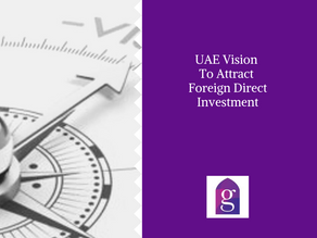 UAE Vision To Attract Foreign Direct Investment