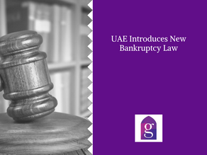 UAE Introduces New Bankruptcy Law