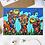 The Camels Greeting card insitu headphones birthday Gateway Art Sales Abu Dhabi Dubai UAE