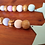 Wood bead garland stars decor pastel spring Easter pastels mint pink lavender Abu Dhabi Al Ain Dubai Gateway Art Sales LLC
