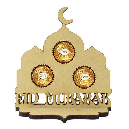 Eid Mubarak gifts gift ferrero rocher chocolate holder Abu Dhabi Dubai UAE  Al Ain Gateway Art Sales unique