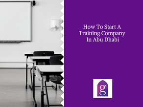 How To Start A Training Company In Abu Dhabi