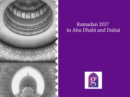 Ramadan 2017 in Abu Dhabi
