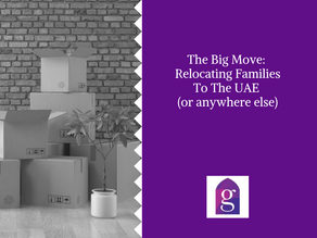 The Big Move: Relocating Families To The UAE (or anywhere else)