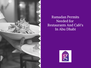 Ramadan Permits Needed for Restaurants And Café's In Abu Dhabi