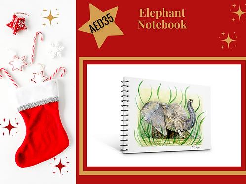 Elephant notebook stocking filler Christmas 2020 present gift stationery Gateway Art Sales Abu Dhabi Dubai UAE