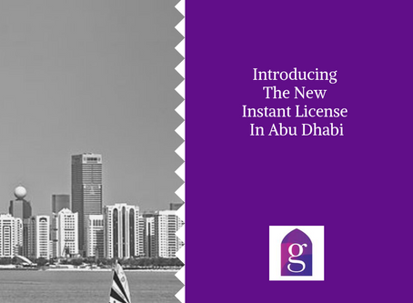 Introducing The New Instant License In Abu Dhabi