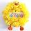 Easter Chick Wreath Happy Sign Plush Toy Yellow decor decoration novelty Abu Dhabi Dubai Al Ain UAE Gateway Art Sales LLC