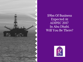 $9bn Of Business Expected At ADIPEC 2017 In Abu Dhabi. Will You Be There?