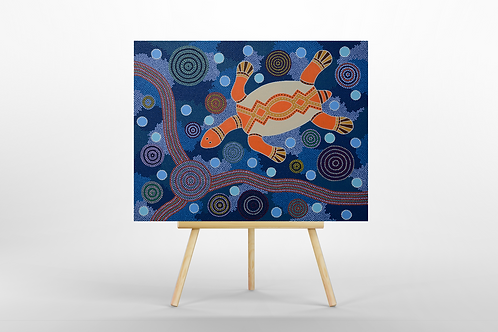 The Turtle ORIGINAL PAINTING