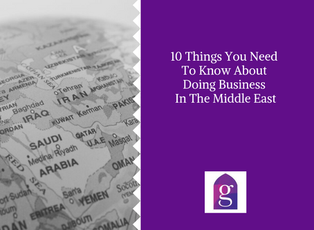 10 Things You Need To Know About Doing Business In The Middle East
