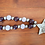 Thumbnail: Eid Wood Bead Loop Garland (Purple, Lavender & Silver)