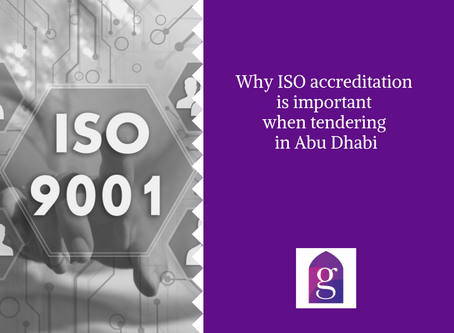 Why ISO accreditation is important when tendering in Abu Dhabi