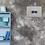 Thumbnail: Blue Camper Van MOUNTED PRINT (A4)