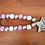 Thumbnail: Eid Wood Bead Loop Garland (Pinks & Silver)