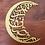 Ramadan Kareem moon sign plaque pendant Arabic calligraphy design gold wall decor Al Ain Abu Dhabi Dubai Gateway Art Sales