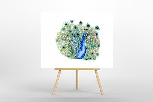 The Peacock ORIGINAL PAINTING