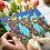 Camels greeting card Arabic art culture style abstract Eid Ramadan colours colors Abu Dhabi Dubai Al Ain Gateway Art Sales