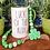wood bead garland green jute tassel hand painted shamrock St Patricks Day deco Abu Dhabi Dubai Gateway Art Sales Al Ain UAE