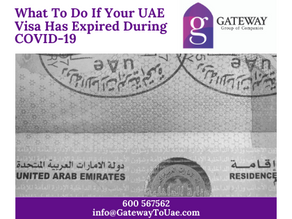 What To Do If Your UAE Visa Has Expired During COVID-19