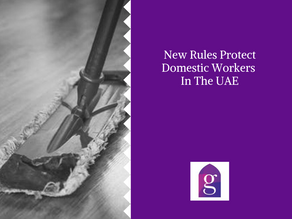 New Rules Protect Domestic Workers In The UAE