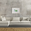 Green Caravan giclee print insitu picture artwork living room sofa Gateway Art Sales Abu Dhabi Dubai UAE