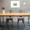 Elephant painting insitu dining desk table chairs picture Gateway Art Sales Abu Dhabi Dubai UAE