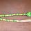 Luck wood bead garland with tassel St Patricks Day decor green yellow shamrock Gateway Art Sales Abu Dhabi Al Ain Dubai