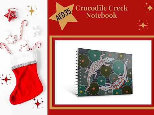 Crocodile Creek notebook stocking filler Christmas 2020 present gift stationery Gateway Art Sales Abu Dhabi Dubai UAE