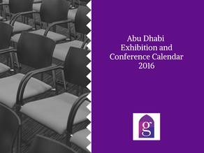 Abu Dhabi Exhibition and Conference Calendar 2016