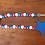 red white blue wood bead garland tassel star tiered tray decor 4th of July patriotic Al Ain Abu Dhabi Dubai Gateway Art Sales