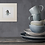 turquoise mermaid giclee print square art print home decor cups saucers gift idea Gateway Art Sales Abu Dhabi Dubai UAE