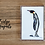 Penguin fridge magnet acrylic fridge magnet wildlife animal bird gift Gateway Art Sales Abu Dhabi Dubai UAE