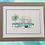 Thumbnail: Blue Retro Caravan ORIGINAL PAINTING