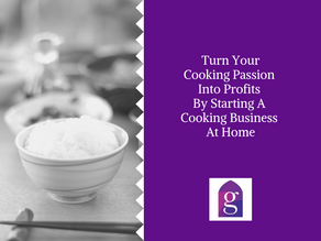 Turn your cooking passion into profits by starting a cooking business at home
