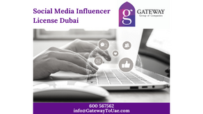 Social Media Influencer License Dubai
