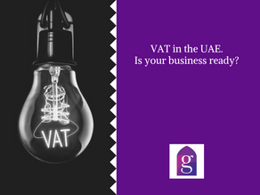 VAT in the UAE. Is your business ready?