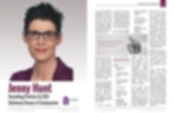 Jenny Hunt interview CEO Today Magazine_