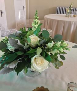 verdant table centerpiece