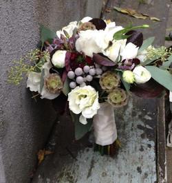 bride's bouquet by floralaura