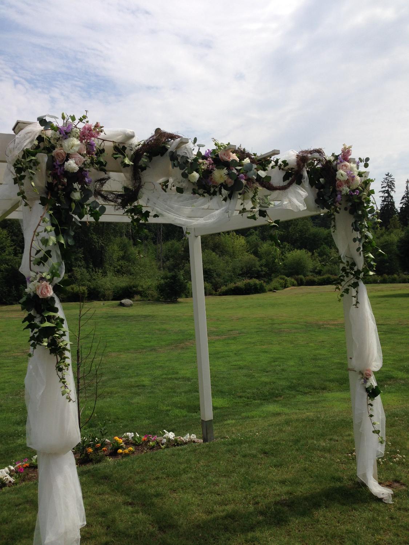 wedding arbor by floralaura