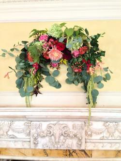 wedding wall arrangement