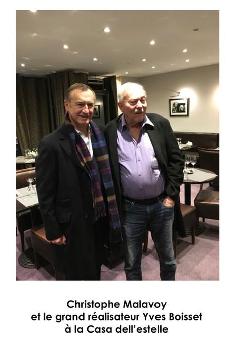 Christophe Malavoy et Yves Boisset