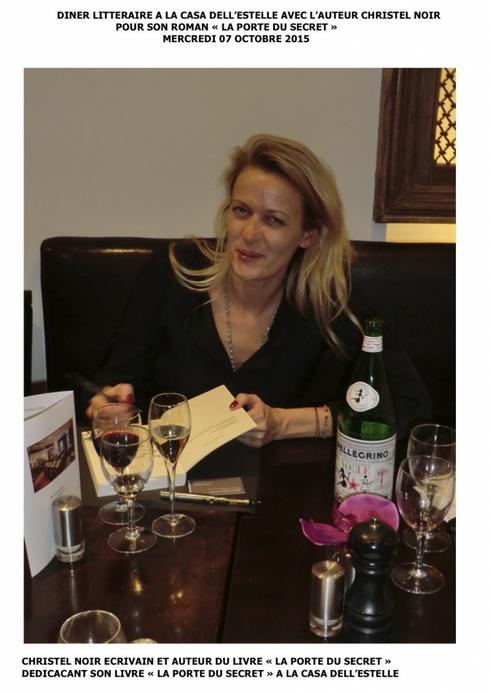 Christel Noir Soirée Littéraire