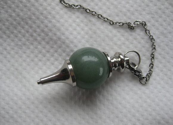 Pendulum i grønn aventurin
