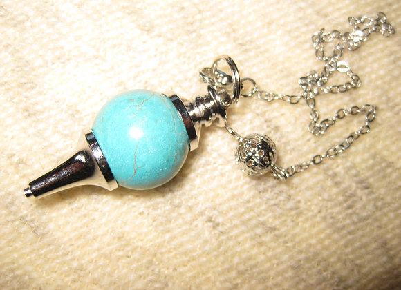 Pendulum i turkis Howlit