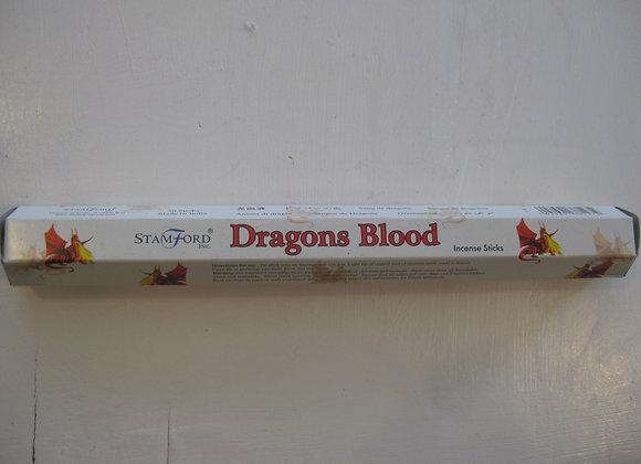 Dragond blood røkelsespinner
