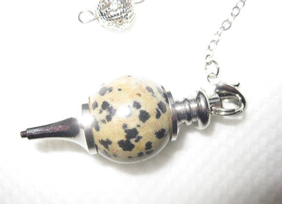 Pendulum i dalmantiner jaspis
